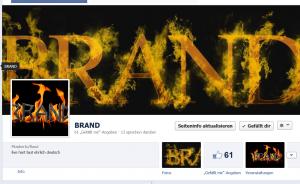 BRAND auf Facebook